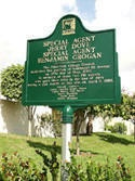 Agents Dove & Grogan Avenue marker