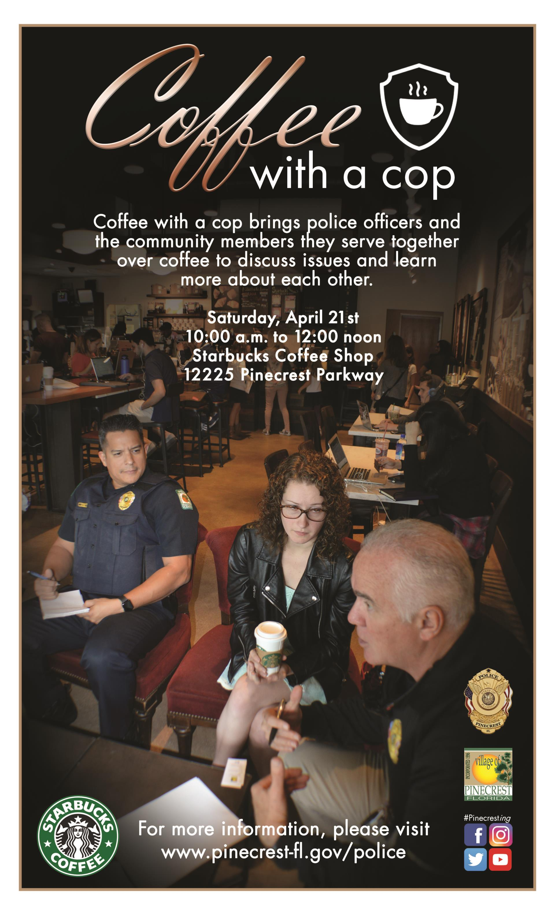 Coffee with a Cop Flyer 2