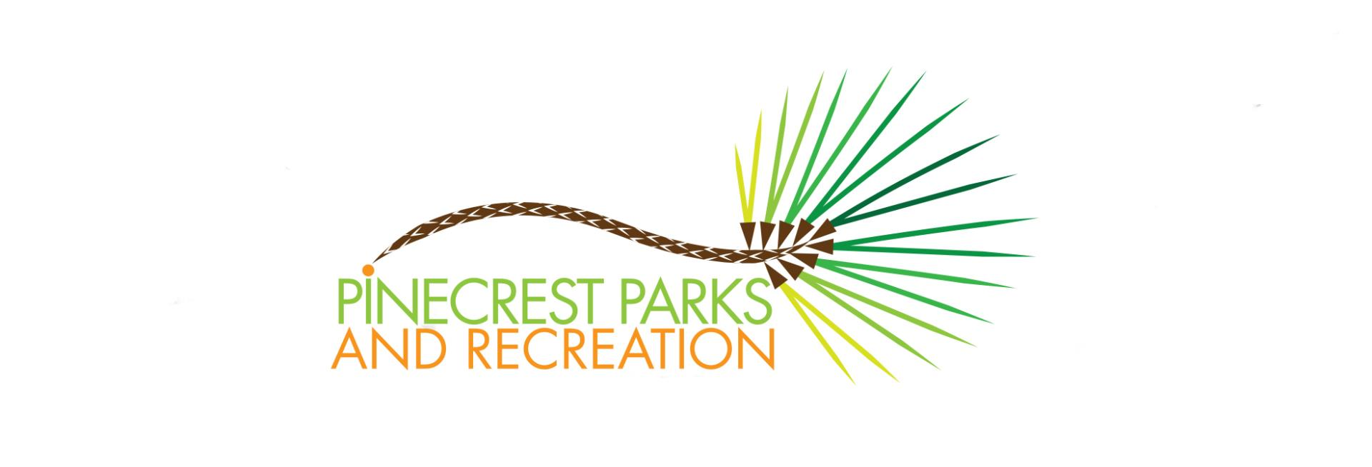 Parks and Recreation Pine Cone Logo